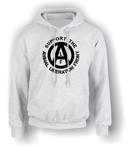 Support the ALF (Animal Liberation Front) - Adult Hoodie - Vegan