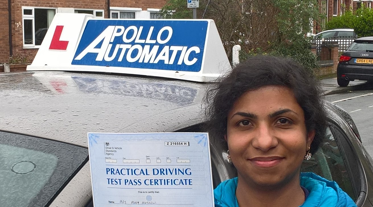 MARY_MATHEW_Automatic_Driving_Lessons_4_U_Timperley_Altrincham