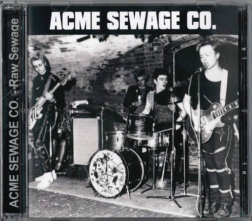 ACME SEWAGE CO. - Raw Sewage CD (NEW)