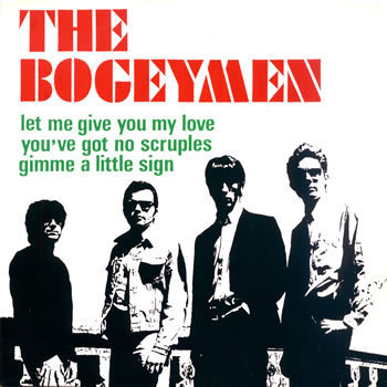 "BOGEYMEN, THE - Let me give you my love / You've Got No Scruples 7"" EP DOWNLOAD"