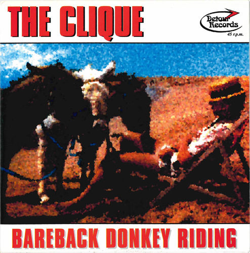 CLIQUE, THE - Bareback Donkey Riding DOWNLOAD