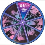 V/A - Oi! The Picture Disc VOLUME #1 (PICTURE DISC) - LP (-/EX) (P)