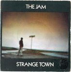"JAM, THE - Strange Town 7""  (+ FRENCH P/S) (VG-/VG+) (M)"