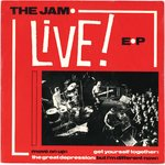 "JAM, THE - Live! EP - 7"" (VG+/VG+) (M)"