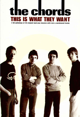 CHORDS, THE - This Is What They Want PROMOTIONAL POSTCARD (EX)