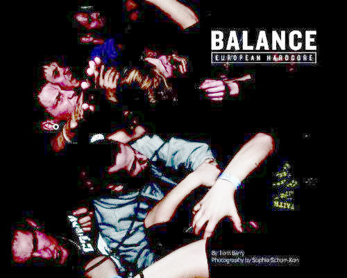 BALANCE - European Hardcore by Tom Barry BOOK (EX) (D3)