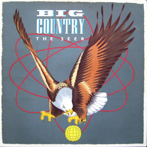 BIG COUNTRY - The Seer LP (EX-/EX) (P)