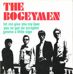 "BOGEYMEN, THE - Let me give you my love / You've Got No Scruples 7"" EP + P/S (EX/EX)"