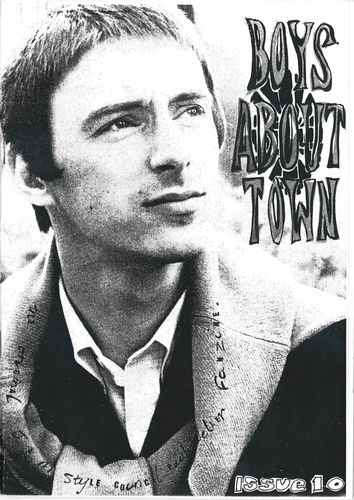 BOYS ABOUT TOWN - Issue 10 FANZINE (NEW)