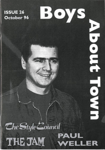 BOYS ABOUT TOWN - Issue 26 FANZINE (NEW)