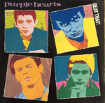 PURPLE HEARTS, THE - Beat That! - LP (EX/EX) (M)