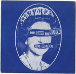 "SEX PISTOLS, THE - God Save The Queen 7"" + P/S (EX/EX) (P)"
