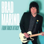 "MARINO, BRAD - Four Track Attack (CLEAR VINYL) EP 7"" + P/S (NEW) (M)"