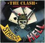 "CLASH, THE - Straight To Hell - 12"" + P/S (VG/EX-) (P)"