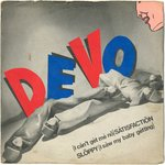 "DEVO - (I Can't Get Me No) Satisfaction - 7"" + P/S (VG/VG+) (P)"