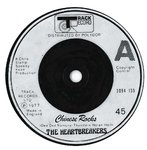"HEARTBREAKERS, THE - Chinese Rocks - 7"" (-/VG) (P)"