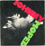 "JOHNNY MOPED - No One / Incendiary Device - 7"" + P/S (VG/EX) (P)"