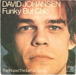 "JOHANSEN, DAVID - Funky But Chic - 7"" + P/S (VG+/VG+) (P)"