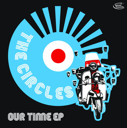 "CIRCLES, THE - Our Time (BLACK VINYL) EP 12"" + P/S (NEW) (M)"