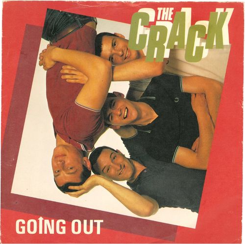 "CRACK, THE - Going Out 7"" + P/S (VG+/VG+) (P)"