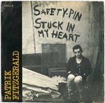 "FITZGERALD, PATRIK - Safety-Pin Stuck In My Heart EP 7"" + P/S (VG/VG) (P)"