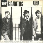"CIGARETTES, THE -  They're Back Again, Here They Come EP 7"" + P/S (/) (M)"