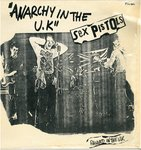 "SEX PISTOLS, THE - Anarchy In The UK - 12"" (+ FRENCH P/S) (EX/EX-) (P)"