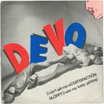 "DEVO - (I Can't Get Me No) Satisfaction - 7"" + P/S (VG+/EX-) (P)"