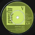 "BUZZCOCKS, THE - What Do I Get 7"" (-/VG+) (P)"