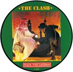 "CLASH, THE - Rock The Casbah - 7"" (PICTURE DISC) (-/EX) (P)"