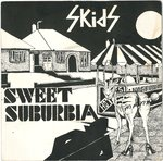 "SKIDS, THE - Sweet Suburbia - 7"" + P/S (VG+/VG) (P)"