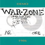 "WARZONE - As One - Demo 1986 (BLUE VINYL) EP 7"" + P/S (NEW) (P)"