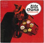 "GORILLAZ - Kids With Guns - 7"" (RED VINYL + POSTER) + P/S (EX/EX) (M)"