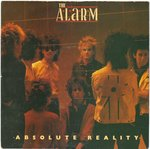 "ALARM, THE - Absolute Reality - 7"" + P/S (EX-/VG) (P)"