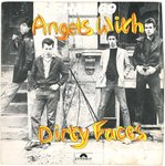 "SHAM 69 - Angels With Dirty Faces - 7"" + PS (VG+/EX-) (P)"