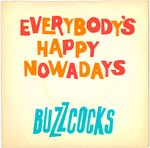 "BUZZCOCKS, THE - Everybody's Happy Nowadays - 7"" + P/S (VG+/EX-) (P) 3"