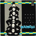 "MADNESS - Work, Rest & Play - 7"" + P/S (VG+/VG) (SKA)"