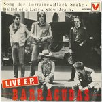 "BARRACUDAS, THE - Live! E.P - 7"" + P/S (EX/EX) (M)"