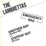 "LAMBRETTAS, THE - Another Day (Another Girl) - 7"" + P/S (EX/EX) (M) 2"
