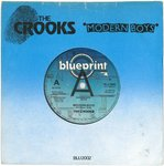 "CROOKS, THE - Modern Boys (PROMO COPY) - 7"" + P/S (VG+/EX) (M)"