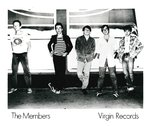 "MEMBERS, THE - 8"" x 10"" PROMO PHOTOGRAPH (EX) (G.B)"