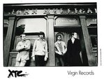 "XTC - 8"" X 10"" Black & White PROMO PHOTO (EX) (G.B)"