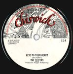 "101'ERS, THE - Keys To Your Heart - 7"" (-/EX) (P)"