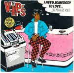 "V.I.P'S, THE - I Need Somebody To Love... - Double 7"" + P/S (VG+/VG) (M)"