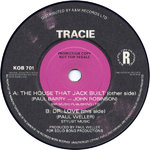 "TRACIE - The House That Jack Built (PROMO COPY) - 7"" (-/VG+) (M)"