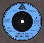 "SMITH GROUP, PATTI - Because The Night 7"" (-/VG+) (P)"