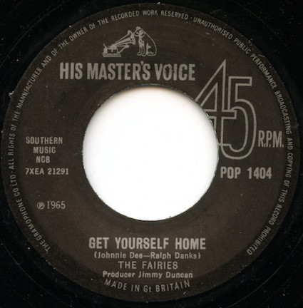 "FAIRES, THE – Get Yourself Home / I'll Dance 7"" (NEW) (M)"