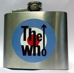 WHO, THE - Stainless Steel Hip Flask (NEW) (G.B)