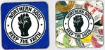 NORTHERN SOUL - A Set Of Two Coasters (EX) (G.B)