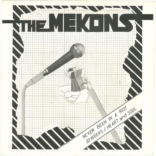 "MEKONS, THE - Never Been In A Riot EP 7"" + P/S (EX/EX*)"